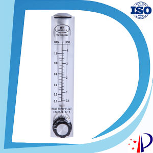 Panel Mounted Acrylic Flow Meter Mechanical Portable Gas Rotameter pictures & photos