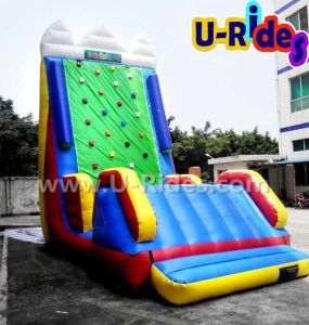 commercial inflatable rock climbing walls Inflatable Water Climbing mountain for Seashore pictures & photos