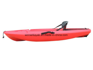 Single Sit on Top Kayak with Paddle for Kids or Child pictures & photos