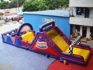 Kids Double Trouble Inflatable Obstacle Course Outdoor Obstacle pictures & photos