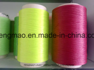 450d Green FDY Polypropylene Yarn for Webbings pictures & photos