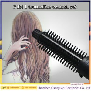 Wholesale Products Automatic 3 in 1 Hair Straightener and Curling Iron pictures & photos