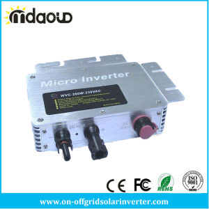 Solar Micro Grid Tie Inverter High Quality 260W with Waterproof Inverter