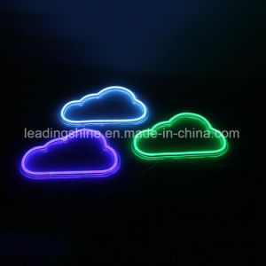 Colorful Cloud Shaped Home Store Market KTV Pub Bar Decoration LED Neon Light