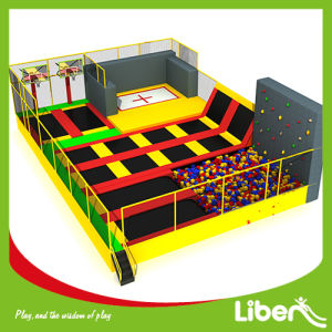 with Slam Dunk Indoor Trampoline House Builder pictures & photos