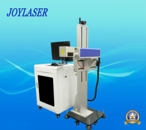 Flying Fiber Laser Marking Machine for PVC/Plastic/Stainless Steel pictures & photos