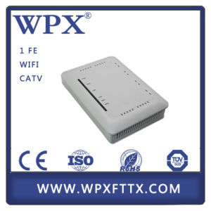 FTTH Modem CPE RF Output 1ge CATV Gepon Ont pictures & photos