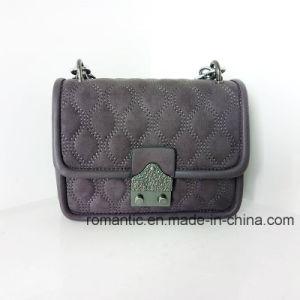 Fancy Stylish Lady PU Plush Chain Leather Handbags (NMDK-032903) pictures & photos