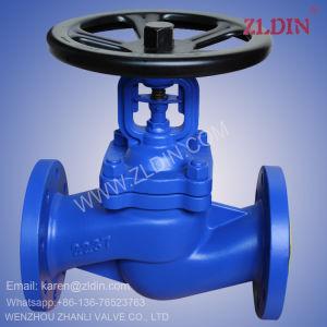 DIN Std. Pn16 Wj41h Bellow Sealed Globe Valve for Flue Gas Puerification Plant pictures & photos