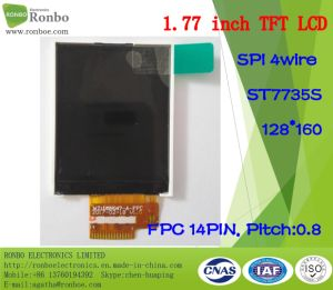 1.77 Inch 128*160 Spi TFT LCD Screen, St7735s, 14pin with Option Touch Screen pictures & photos