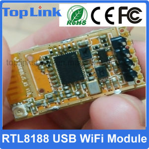 Hot Selling Realtek Rtl8188eus Mini 150Mbps Embedded USB Wireless WiFi Network Card for IP Camera pictures & photos