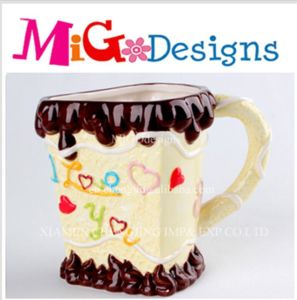 OEM Ceramic Valentine I Love You Mug Gift Personalities Canister pictures & photos