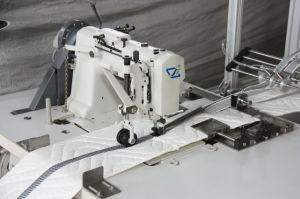 Model Czf Mattress Border Zipper Sewing Machine pictures & photos