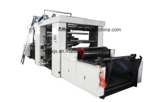High Accuracy Planet Gear Control 4 Color Flexo Printing Machine pictures & photos