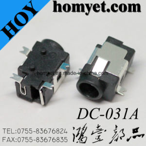 4pin 1.0mm Pitch SMT Surface Mounting DC Connector DC Power Jack pictures & photos