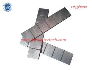 63HRC High Chromium White Iron Wafer Strips for Mining Abrasion pictures & photos