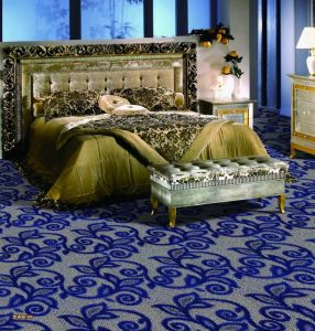 Emily-1/10 Rolled Polypropylene Bcf/Nylon/Wool Wall to Wall Office/Hotel/Home Broadloom Carpet pictures & photos