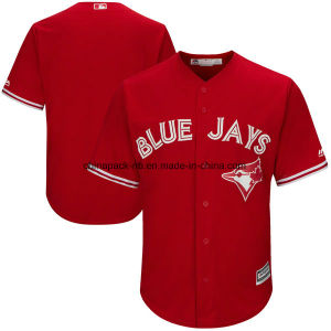 Men′s Toronto Blue Jays Majestic Cool Base Team Jersey pictures & photos