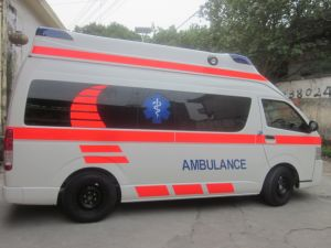 Toyota Hiace Super High Roof 2.7L Gasoline Ambulance (Luxury Version) pictures & photos