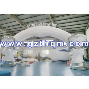 Customized Moveable Inflatable Arch Rental/Inflatable Arch for Running Sports pictures & photos