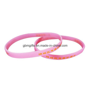 Hot New Products for 2017 Custom Silicone Bracelet/Wristband pictures & photos