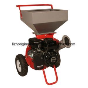 6.5HP 2 Blade 75mm Chipping Capacity Chipper Shredder, Branch Chipper pictures & photos