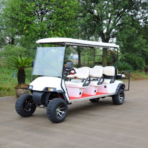 Ce Certification 8 Passenger Electric Hunting Golf Cart for Holiday Village pictures & photos