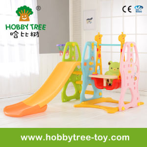 2017 Popular Style with Longer Plastic Slide for Baby (HBS17025A) pictures & photos