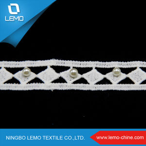 Liturgical Lace Trim, Leather Lace George Fabric pictures & photos