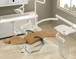 Real Leather Dental Chair with 3 Memory pictures & photos