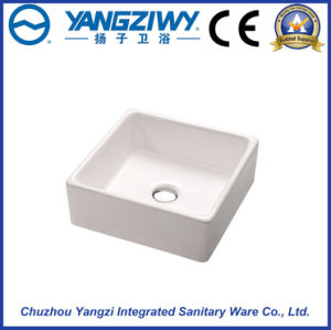 Square Ceramic Sanitary Ware Art Basin
