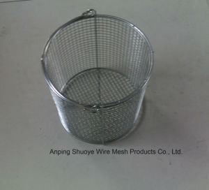 Stainless Steel Wire Mesh Basket Strainer for Food Oil pictures & photos