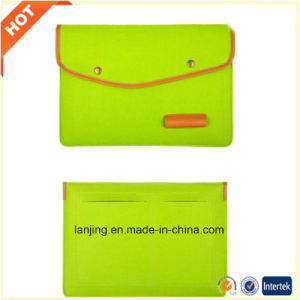 Wholesale Cheap Wool Felt Laptop Computer Bag for Mac 11 13 15 17 Inch pictures & photos