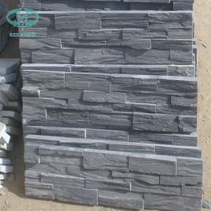 Black/Grey/Blue Culturestone Slate for Wall pictures & photos