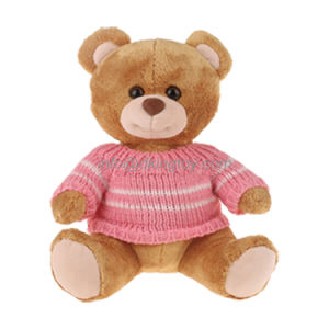 Stuffed Animals Plush Toy Teddy Bear with Sweater pictures & photos