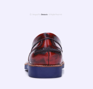 2017 Lady Brushed Leather Flat Women Casual Loafers Shoes (CIF) pictures & photos