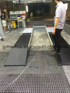 3.5 Tons Wheel Alignment Scissor Lift on Ground Type pictures & photos
