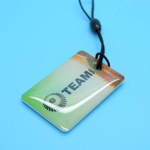 club gym fitness epoxy NTAG213 RFID keychain NFC keyfob pictures & photos