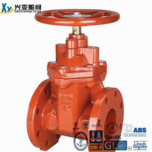 Wholesale Cast Iron Marine Solid Wedge Gate Valves pictures & photos