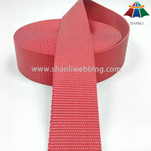 1.5 Inch (38mm) Bright Red Blue Flat Nylon Webbing for Shoulder Straps pictures & photos