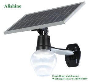 High Quality 12W All in One LED Solar Wall Light with Competitive Price pictures & photos