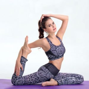 High Waist Fitness Yoga Sport Suit pictures & photos