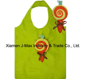 Foldable Shopping Bag, Food Lolly Style, Reusable, Lightweight, Tote Bags, Grocery Bags and Handy, Gifts, Promotion, Accessories & Decoration pictures & photos