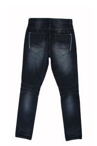 Fashion Design Men′s Straight Denim Jeans (MYX06) pictures & photos