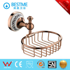 Bathroom Accessories Rose Golden Toilet Holder pictures & photos