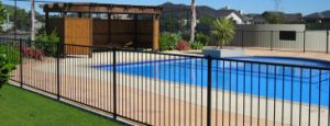Anti-Rust Black Pool Garden Fence with High Quality pictures & photos