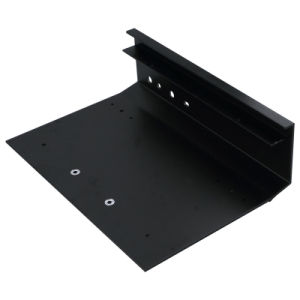 Black Anodized Aluminium/Aluminum Panel for Electronics with CNC Machined pictures & photos