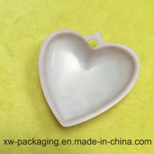 Heart-Shaped Printed Fancy PP Plastic Solid Blister Tray pictures & photos
