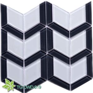 Mixed Color Shield Polygon Glass Mosaic (TG-OWD-619) pictures & photos