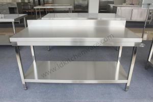 Stainless Steel Work Table with National Patent Fiberboard pictures & photos
